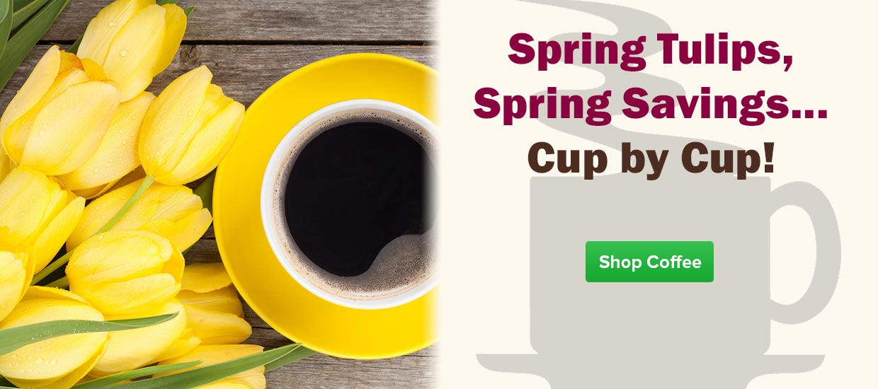 Coffee Cup Savings, White Bear, Single Cup Pods, 4 Cup, Seattle's Best, Dunkin Donuts K-cups, Starbucks, Maxwell House