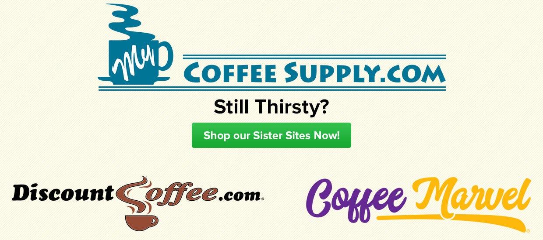 Shop DiscountCoffee.com, CoffeeMarvel.com, Coffee, Single Cup, Beverages, Tea, Hot Cocoa, Cappuccino Beverages
