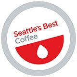 Seattle's Best 4 Cup In-Room Coffee, Ground, Portside Blend, Decaf, Printed Cups, Lids.