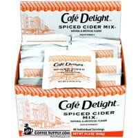 Diamond Crystal Cafe Delight Spiced Apple Cider | 40 ct