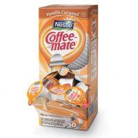 Coffee-mate Vanilla Caramel Liquid Creamer 50 ct. Box