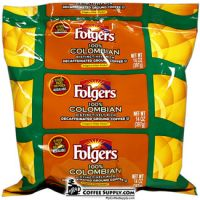 Folgers Decaf 100% Colombian Filter Pack Coffee | 40 - 1.40 oz