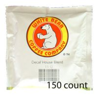 White Bear Decaf House Blend Coffee Pods 150 count