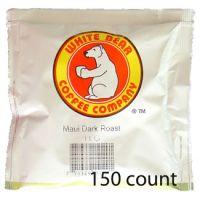 White Bear Maui Dark Roast Coffee Pods 150 count