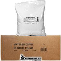 White Bear Hot Chocolate Mix 12 / 2 lb. Bags per Case