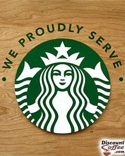12 oz. Starbucks Coffee Siren Logo Printed Cups | Starbucks Tall Paper Hot Cups