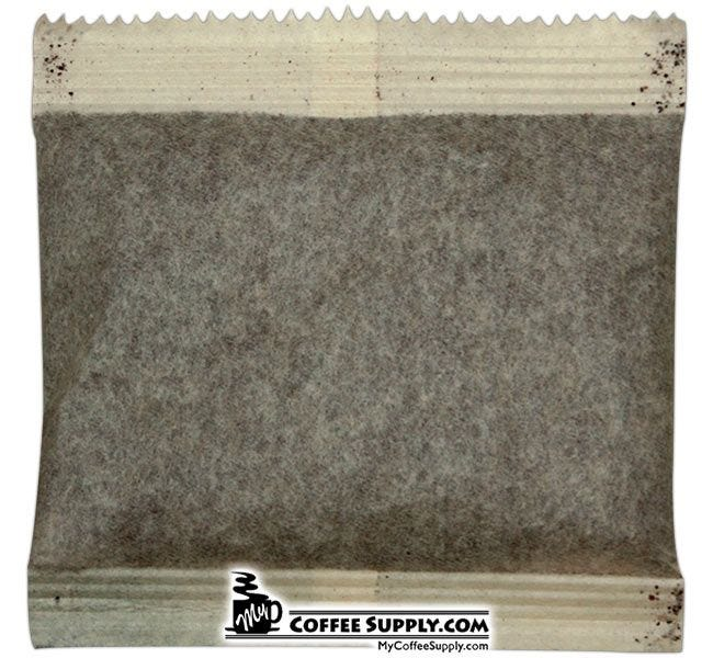 4 Cup Filter Pack White Bear Coffee. Regular Hotel In Room Food Service 200 ct. Bulk Case.