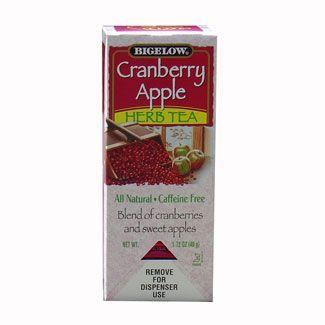 Bigelow Cranberry Apple Herbal Tea