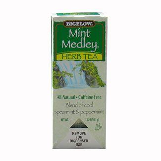 Bigelow Mint Medley Herb Hot Tea Bags