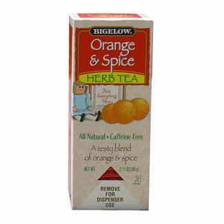 Bigelow Orange & Spice Herbal Tea Bags