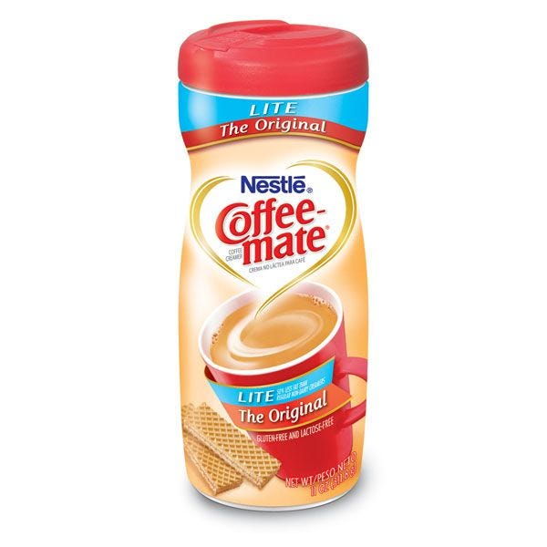 Coffee-mate Original Lite Canister