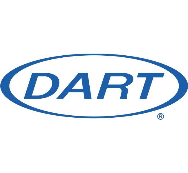 Dart Cups | 10 oz. White Plastic Sip Thru Lid 10UL, 1,000 ct. Case Made in U.S.A.