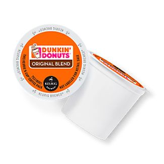 Dunkin Donuts Original Blend K-Cup Coffee 72 ct. Case