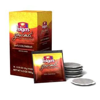 Folgers Gourmet 100% Colombian Coffee Pods | 18 ct