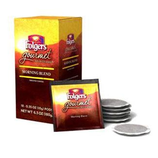 Folgers Gourmet Morning Blend Coffee Pods | 18 ct