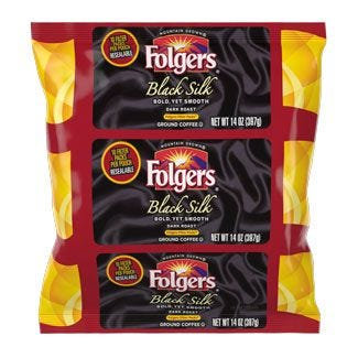 Folgers Black Silk 1. 4 oz. Filter Pack 40 / Case