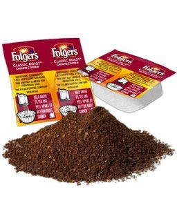 Classic Roast Folgers Vackets with Ground Coffee