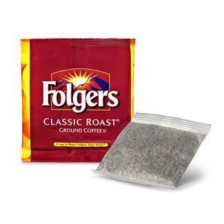 Folgers 4 Cup In Room Classic Filter Pack 200 ct. Case