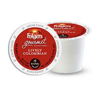 Folgers Lively Colombian K-Cup 12 ct.