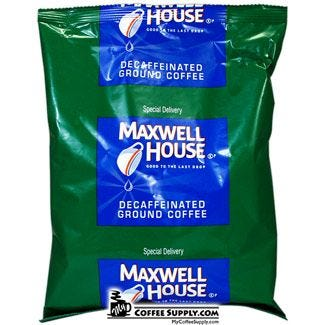 Maxwell House Special Delivery Decaf | 42 - 1.3 oz