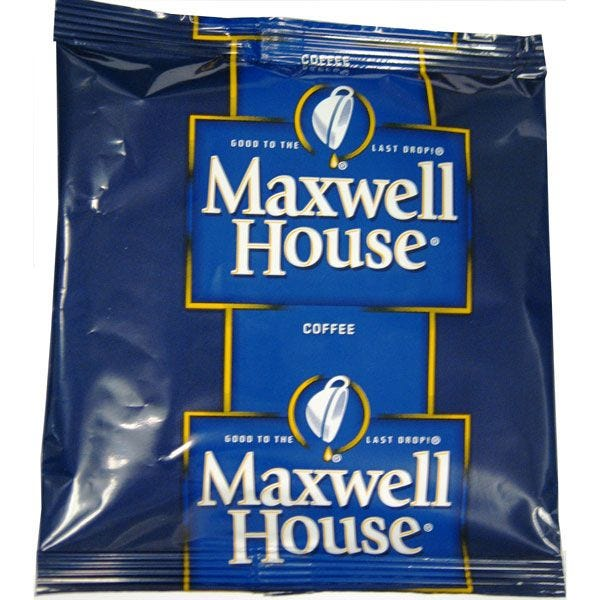 Maxwell House Hotel and Restaurant Coffee 192 / .2 oz. Bags