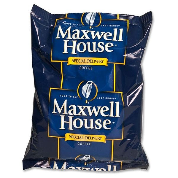 Maxwell House Special Delivery 42 ct. Case