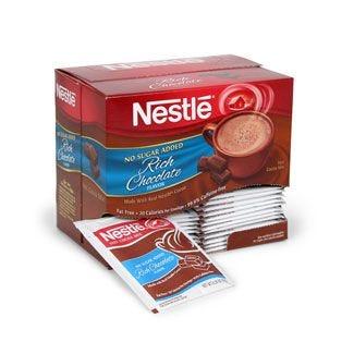 Nestle Cocoa No Sugar Added 30 ct. Box