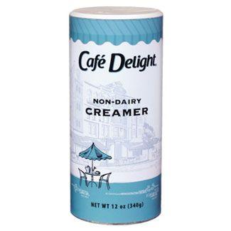 Non-dairy Cafe Delight Creamer Canister 12 oz.