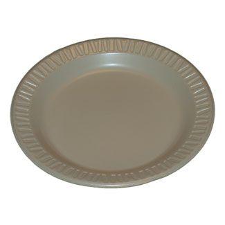 Small Styrofoam Plate
