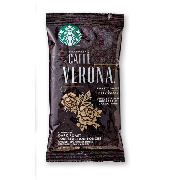 Starbucks® Caffe Verona® | 18 - 2.5 oz