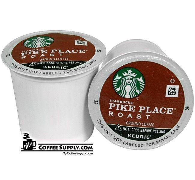 Starbucks Pike Place Medium Roast K-Cup Coffee 60 ct. Case