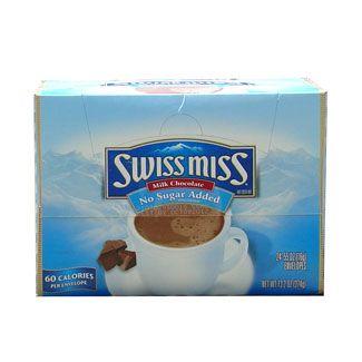 Swiss Miss No Sugar Added Hot Chocolate 24 ct. Box